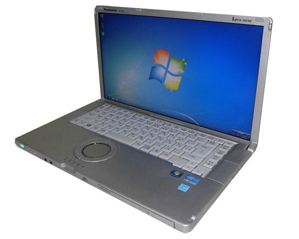 ワケあり(バッテリーNG) 中古パソコン レッツノート Windows7 Panasonic Let'sNote CF-B10 (CF-B10AWCYS) Core i5-2520M 2.5GHz 4GB 160GB マルチ HDMI 中古ノートPC 15.6インチ フルHD (1920x1080)