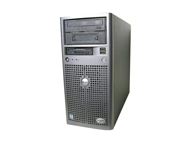 DELL PowerEdge 800【中古】Pentium4-3.2GHz/1GB/160GB×3