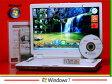 Win7搭載 NEC Lavie LL550/L 【中古】AMD Sempron-3600+ 2.0GHz/2GB/120GB【中古ノートパソコン】【Windows7】【無線LAN】【メモリー2GB】【Office】【送料無料】【マルチ】