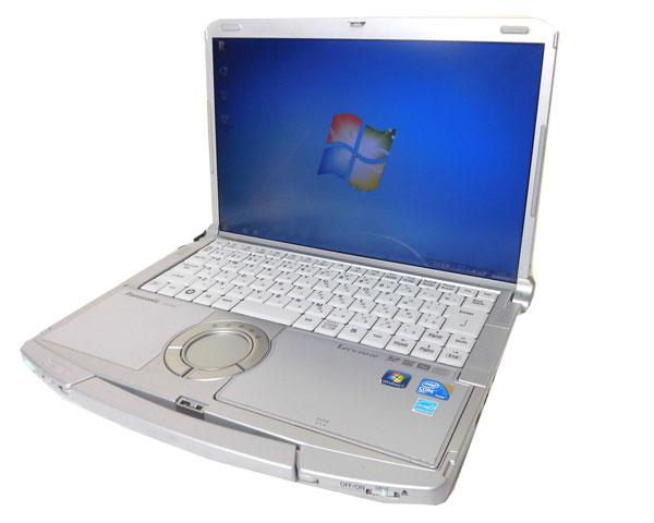 【一部予約!】Windows7 Panasonic Let'sNote CF-F10CF-F10AWHDS 中古ノートパソコンCore i5 580M 2.66GHz/4GB/320GB/DVDマルチ【無線LAN】【Win7Pro-レッツノート】