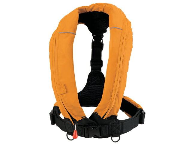 オーシャンRE-5型 オレンジ 自動膨張式ライフジャケット T字型固定式 国交省認定品 新基準対応