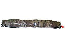 自動膨張式 ライフジャケット BSJ-5220RS マルチカモ ウエストベルトタイプ BLUESTORM 高階救命器具 国交省認定品TYPE-A 検定品 新基準品
