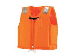 小型船舶用救命胴衣 オーシャンC-2型オレンジ 新基準 船舶検査対応 国交省認定品 水害対策