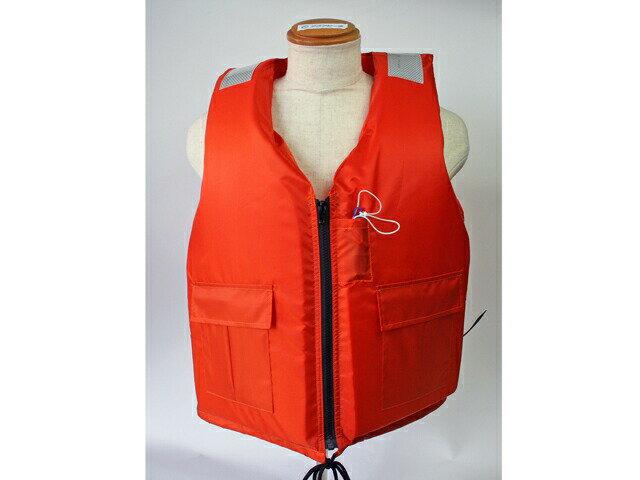 作業用救命衣 背抜き型3L 日本救命器具 小型船舶用救命胴衣 船舶検査対応 国交省認定品