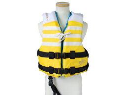 小児用ライフジャケット BSJ-210C(M) イエロー BLUESTORM 高階救命器具 国交省型式承認品 小型船舶用救命胴衣