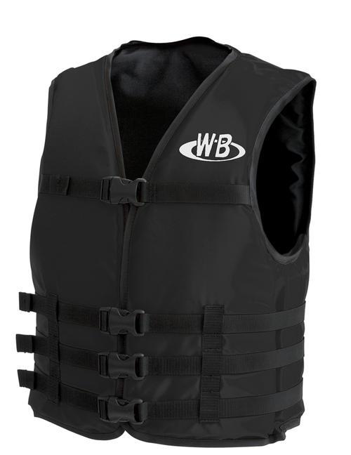 マリンスポーツ用ライフジャケットO-1型ブラックTYPE-F検定品船舶検査対応国交省認定品