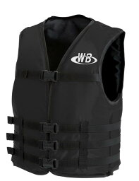 マリンスポーツ用ライフジャケット O-1型ブラック TYPE-F 検定品 船舶検査対応 国交省認定品