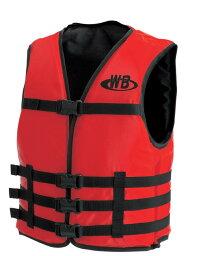 マリンスポーツ用ライフジャケット O-1型レッド TYPE-F 船舶検査対応 検定品 国交省認定品