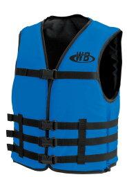 マリンスポーツ用ライフジャケット O-1型ブルー TYPE-F 船舶検査対応 検定品 国交省認定品