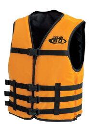 マリンスポーツ用ライフジャケット O-1型オレンジ TYPE-F 船舶検査対応 検定品 国交省認定品