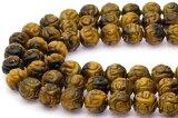 【カットビーズ】タイガーアイ 法器 12mm|一連|天然石|パワーストーン| 【RCP】 05P01Feb15