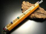 【魔术wand】黄方解石|治愈wand|全长200mm|天然石头|走运|力量之石|[【マジックワンド】イエローカルサイト|ヒーリングワンド|全長200mm|天然石|開運|パワーストーン|]