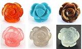 モチーフビーズ・薔薇 (立体)|12mm 1粒売り|バラ売り 手作りにオススメ! 天然石|パワーストーン|【RCP】 P25Jan15