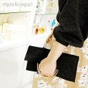 ショッピング資生堂 資生堂 ゴールドリング クラッチ スウェードブラック SHISEIDO GOLD RING CLUTCH SUEDE BLACK [ノベルティ]