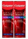 楽天AQUA7 SHOP【最新版】コルゲート Colgate オプティックホワイト リニュー ホワイトニング 歯磨き粉 ハイインパクト ホワイト 85g【お得な 2本セット】Optic White Renewal High Impact White