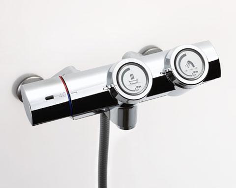 LIXIL INAX プッシュ式サーモスタット付シャワーバス水栓  BF-HW156TSD BF-HW156TNSD