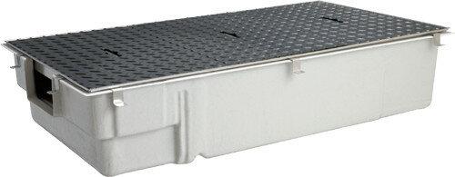 前澤化成工業 FRP製グリーストラップ 側溝流入超浅型(容量40L) GT-40SLX