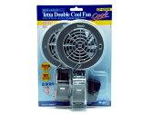 テトラ 水槽用冷却ファン ダブルクールファン CF−60WN 保温・保冷器具 水槽用冷却ファン