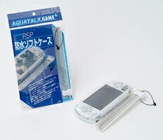 "★ PSP-3000-enabled! Portable game machines for waterproof softcase ""アクアトーク Gemplus' SONY PSP Playstation Portable for"" """