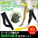 加圧 テーピング スパッツ レディース【歩いて薄型カロリーダ...