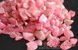 インカローズさざれ石(45g)/ AA(ロードクロサイト) /さざれ石【サザレ、チップ】/ (穴無し、穴なし) 原石| パワーストーン ピンク色| タンブル| serra 【オーガ
