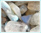 【レビューで祭】【】天然石/ラブラドライト/(AAAランク) /さざれ石 45g(穴無し、穴なし)【メール便可】【HLSDU】