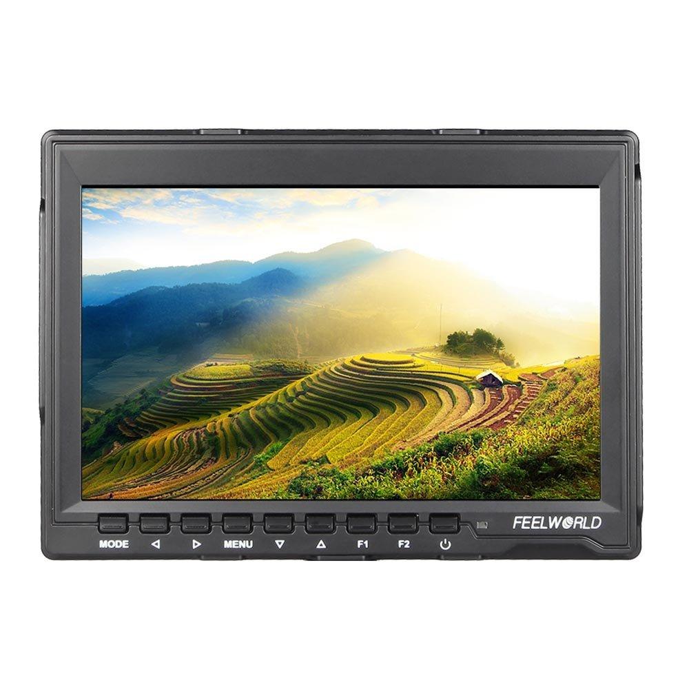 Feelworld FW759一眼レフカメラ/ビデオカメラ用液晶モニター/7インチ HD IPS 1280×800 HDMI【国内正規品/1年保証/日本語説明書付】液晶モニタ
