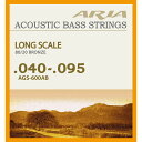 ARIA  Acoustic Bass Strings AGS-600AB お買い得なアコベ弦
