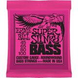 EARNIE BALL #2834SUPER SLINKY エレキベース弦スーパースリンキー 1セット