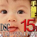 スマホ・デジカメプリント DSCサイズ<手補正付き> 高品質写真仕上げ
