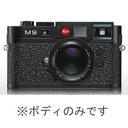 【送料無料】ライカ LEICA M9 ブラック ボディのみ/デジタルカメラJAN末番7040