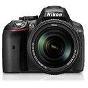 【送料無料】【即納】Nikon D5300 18-140 VR レンズキット [ブラック] デジタル一眼レフカメラ JAN末番0753 【0824楽天カード分割】