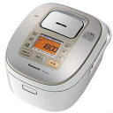 【送料無料】【即納】パナソニック 炊飯器SR-HB104-W [ホワイト] JAN末番165022