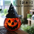 ハロウィンガラスポット[Jack O' glass Lantern]【楽ギフ_包装】【楽ギフ_メッセ入力】