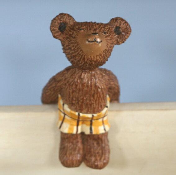 ジェームスひっかけオーナメント(イエロー)クマの...の商品画像