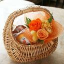 『ピクニック』プリザーブドフラワーのミニブーケ&焼き菓子in...