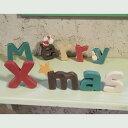 【クリスマスオーナメント】「フローノエル」�Meery X'mas�(マグネットつきクリスマス・アルファベット木製オーナメント ガーランド)【楽ギフ_包装】【楽ギフ_メッセ入力】