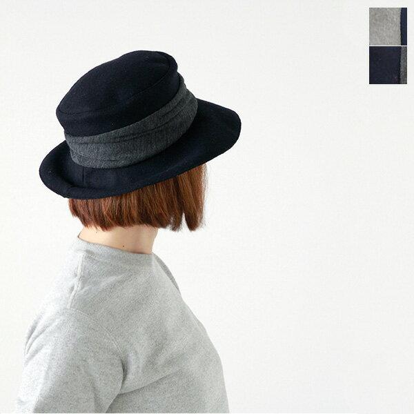 "【2016aw新作】mature ha.(マチュアーハ)メルトンドレープハット""melton drape hat midlle"" maw16-01m-tr"