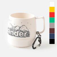 """【最大45倍】【2019ss新作】and wander(アンドワンダー)カラビナ付断熱カップ""""and wander DINEX"""" aw-aa940-yhの画像"""