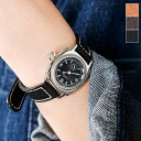"Vague Watch Co.(ヴァーグウォッチカンパニー)レザーベルトアナログウォッチ""COUSSIN"" co-s-rf"
