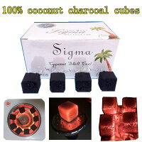 100% coconut charcoal cubes for shisha hookah coal sigma72 pcsシーシャ炭 coal Coconut Charcoal 1kg /ナチュラルココナッツチャコール 1kg 水タバコ/shish