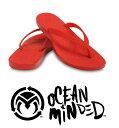 【新品アウトレット】OCEAN MINDED(オーシャンマインデッド) by crocs カリフォルニア発 MALIA W [SCAR LET] 軽量快適ビーサン 23 24 cm 2サイズ