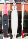 """【極上中古】SIC(エスアイシー) FX Proモデル TECH SCC スタンドアップパドルボード [Red] 12'6"""" Flat-Water Race Touring"""