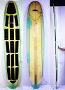 """【中古】Bruce Jones Surfboards(ブルース・ジョーンズサーフボード) サーフボード [green] 10'0"""" ロングボード"""