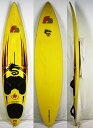 "【中古】F2 ウインドサーフィンサーフボード Shape by PeterThommen [yellow] 8'2"" Windsurfing"