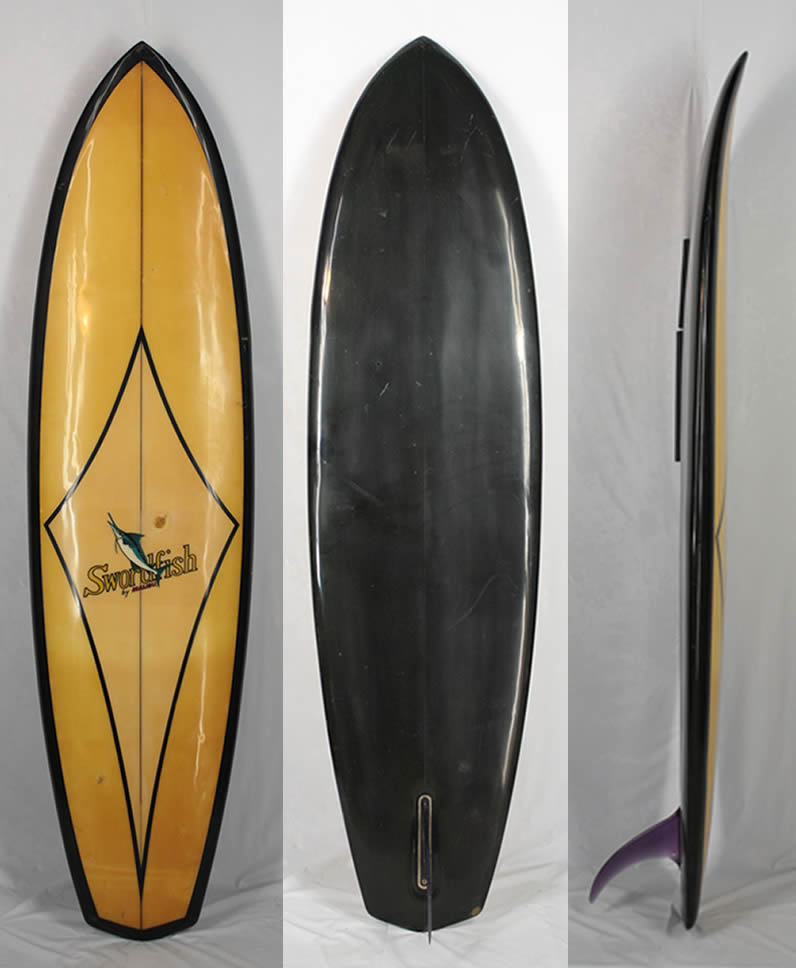"""7'0"""" ビンテージ希少中古 SWORD FISH MALIBU SURF BOARD 入手困難 希少な ヴィンテージ サーフボード!!"""