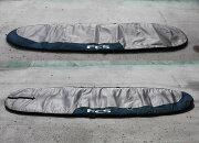 【中古】FCS(エフシーエス)サーフボード用 ボードケース[SILVER/GREEN] 9'7