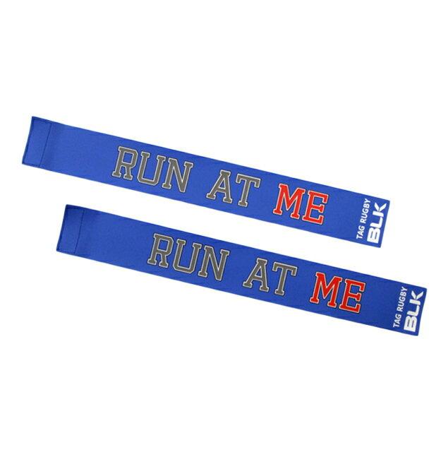 BLKタグ・ラグビー用タグ(Run at Me)*青色 AR008-301