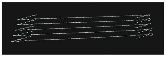ハンマーピアノ線 5本組 F353B 10%OFF! NISHI ニシスポーツ ハンマー投げ