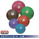 NISHI ニシスポーツ ネモメディシンボール ゴム製 2kg NT5882C 直径19cm パープルNT5882C トレーニング